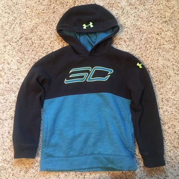 newest 43aa6 8bf12 Under armour - Steph Curry hoodie - youth medium